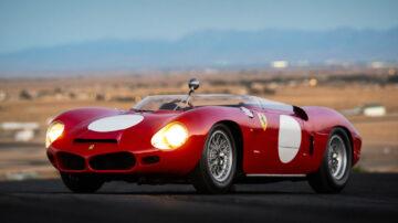 1962 Ferrari 268 SP on sale at RM Sotheby's Monterey 2021 classic car auction