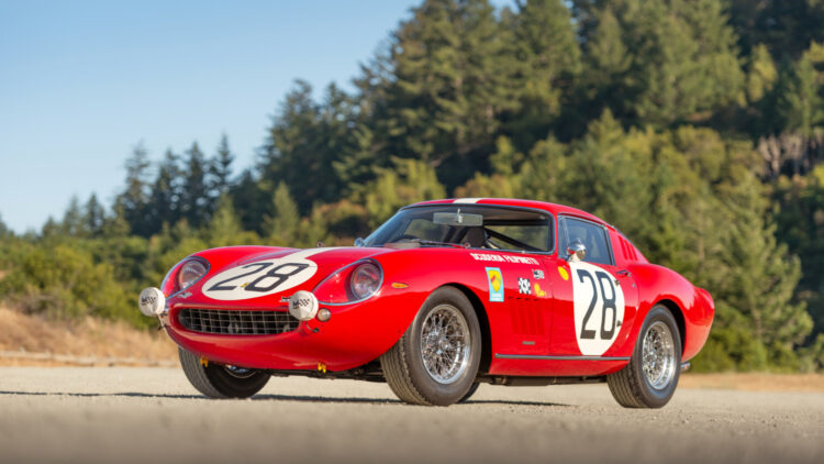 1966 Ferrari 275 GTB Competizione on sale at RM Sotheby's Monterey 2021 classic car auction