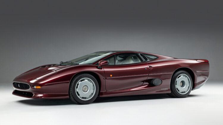 1993 Jaguar XJ220 on sale in the Bonhams Revival 2021 classic car auction