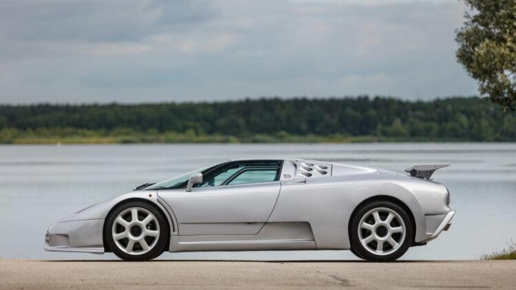 1994 Bugatti EB110 Super Sport on sale at Bonhams The Zoute Sale 2021 classic car auction in Belgium