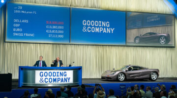 Marque record McLaren F1 sold at Gooding Pebble Beach 2021 sale