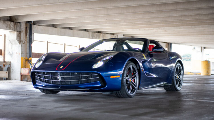 2016 Ferrari F60 America, on sale at RM Sotheby's Monterey 2021 classic car auction