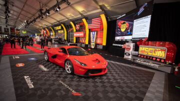 2014 Ferrari LaFerrari among the top 12 results at the Monterey Mecum 2021 sale