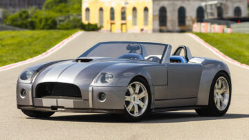 2004 Ford Shelby Cobra Concept car among the top 12 results at the Monterey Mecum 2021 sale