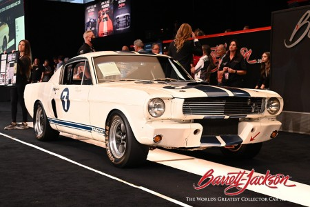 1966 Shelby GT350 Sir Stirling Moss Race Car (Lot#741) – $495,000