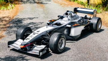 2002 McLaren MP4 17D Single-Seater F1 racing car