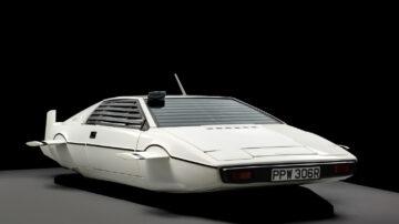 1977 Lotus Esprit S1 'Wet Nellie', The Spy Who Love Me expensive Bond car sold