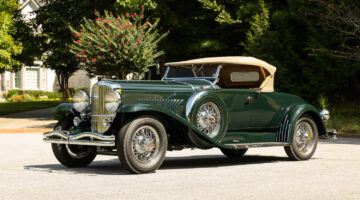 """1931 Duesenberg Model J Roadster """"Green Hornet"""" among the top results in the RM Sotheby's Hershey sale 2021"""