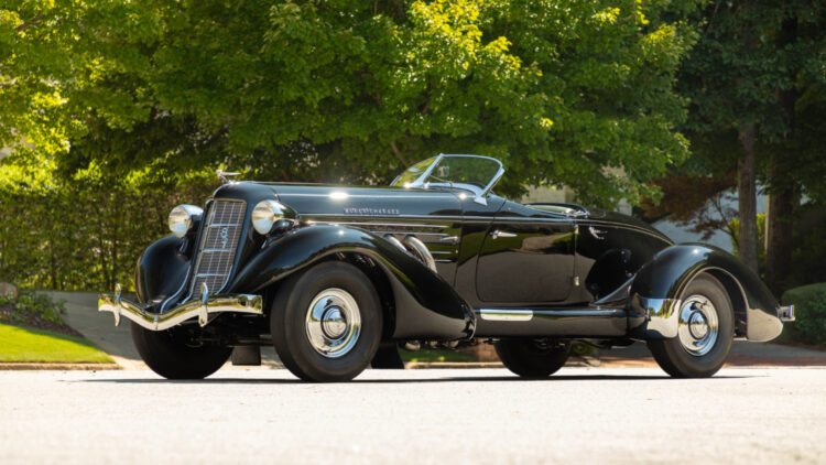 1935 Auburn Eight Supercharged Speedster among the top results in the RM Sotheby's Hershey sale 2021
