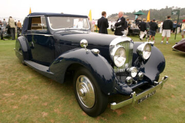 1937 Bentley 4 ¼-Litre Gurney Nutting 3-Position DHC, Never Say Never Again