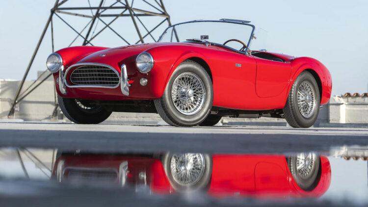 Red 1963 Shelby Cobra 260