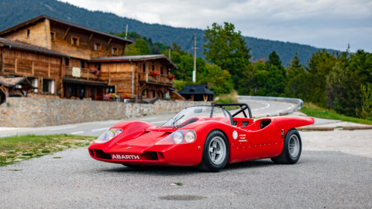 1969 Abarth 2000 Sport Tipo SE010 on sale at RM Sotheby's Paris 2022 auction