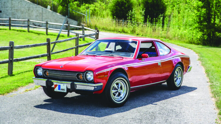 1974 AMC Hornet, The Man With The Golden Gun -- the most expensive premium for a driveable bond cars sold at auction