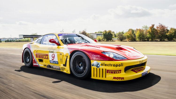 2003 Ferrari 550 GTC on sale in the RM Sotheby's Paris 2022 auction
