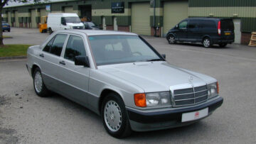 1991 Mercedes-Benz 190E, No Time To Die